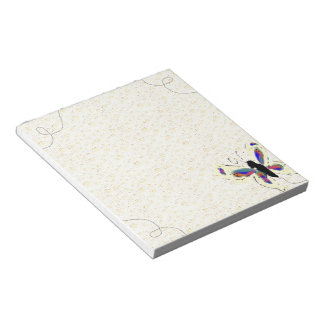 Butterfly Scratch Pad