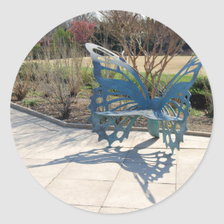 Butterfly Sculpture Chair in Spring Stickers