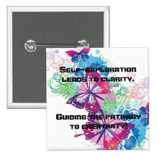Butterfly Self Exploration Pin