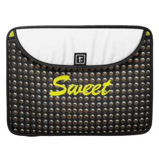 Butterfly Sequins Rickshaw Flap Sleeve Sleeve For MacBook Pro