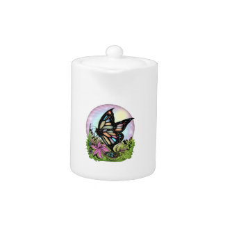 Butterfly Serenity Teapot