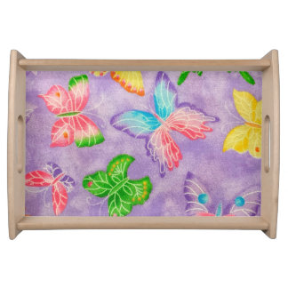 Butterfly Serving Table Serving Tray
