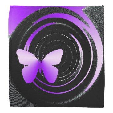 Beach Themed butterfly shades bandana
