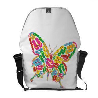 Butterfly shape courier bag