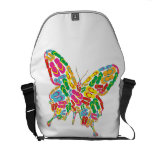 Butterfly shape messenger bags
