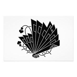 Butterfly-shaped fans (Hi-ohgi cho) Stationery