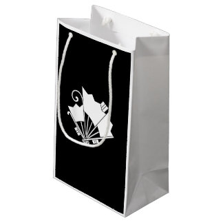Butterfly-shaped fans (Ogi cho) Small Gift Bag