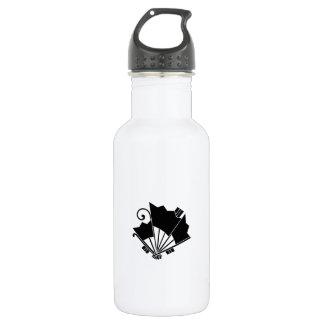 Butterfly-shaped fans (Ogi cho) Stainless Steel Water Bottle