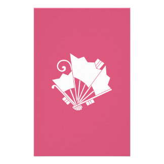 Butterfly-shaped fans (Ohgi cho) Stationery