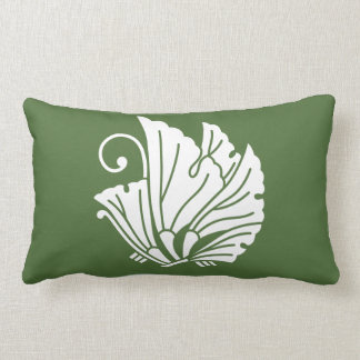Butterfly-shaped ginkgo leaves lumbar pillow