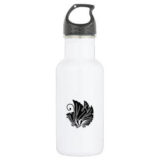 Butterfly-shaped ginkgo leaves water bottle