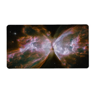 Butterfly Shaped Planetary Nebula Label