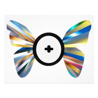 Butterfly Shaumbra Evolution Letterhead