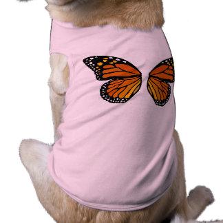 Butterfly Shirt Dog Costume Halloween Butterfly T