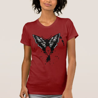 Butterfly Shirt with painted butterfly