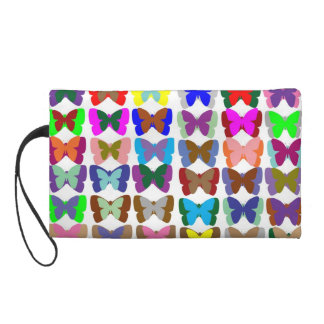 Butterfly Show Wristlet Clutches
