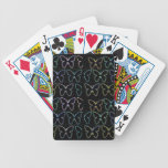 Butterfly Show Bicycle Playing Cards