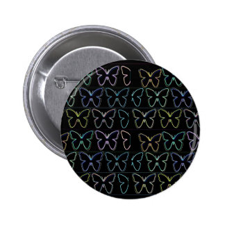 Butterfly Show Pinback Button