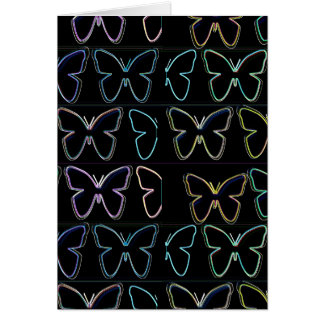 Butterfly Show Greeting Card