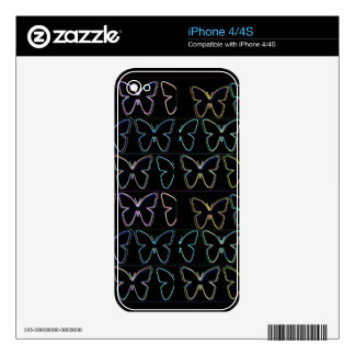 Butterfly Show iPhone 4 Decal