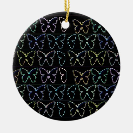 Butterfly Show Ornament