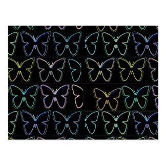 Butterfly Show Postcard