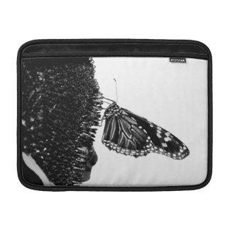 butterfly shy blacq MacBook sleeve