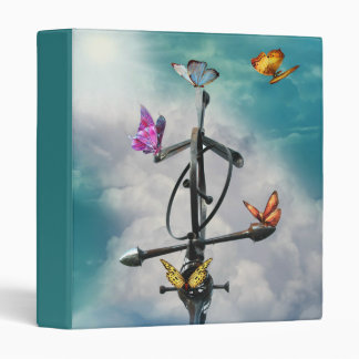 Butterfly Sign Binder