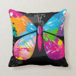 butterfly Silhouette pillow