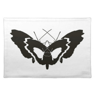 butterfly silhouette placemat
