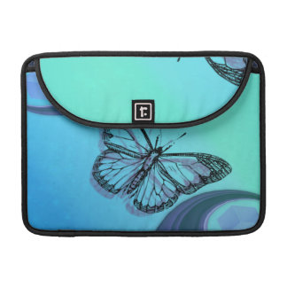 Butterfly Silhouette Sleeve For MacBooks