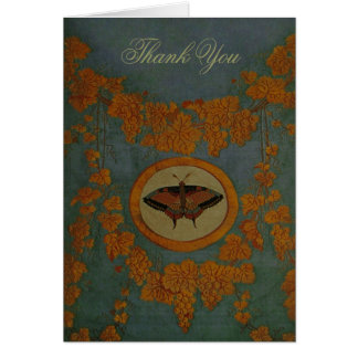 Butterfly Silk Cloth ~ Card / Invitations