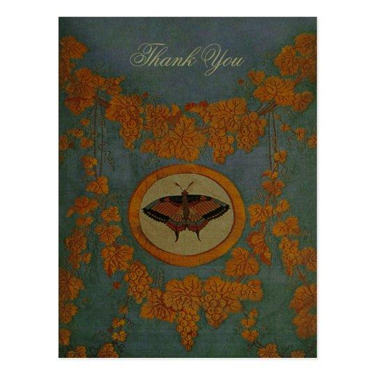 Butterfly Silk Cloth ~ Postcard / Invitations