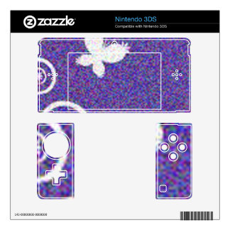 BUTTERFLY NINTENDO 3DS DECAL