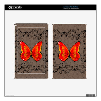 Butterfly Kindle Fire Decals