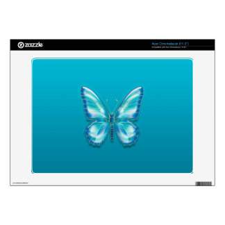 Butterfly Decal For Acer Chromebook