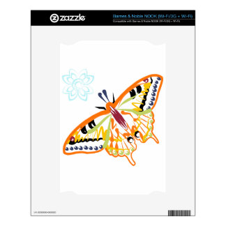 Butterfly Skin For The NOOK