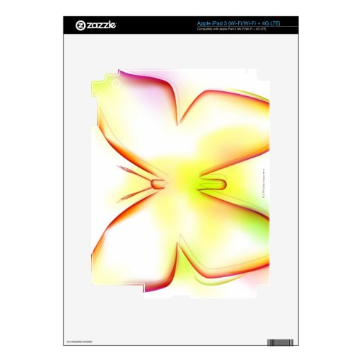 Butterfly Skins For iPad 3