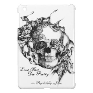 Butterfly Skull Back from the Dead IPAD mini Case