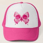 Butterfly Skull Trucker Hat