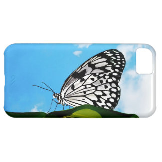 Butterfly & Sky iPhone 5C Cover