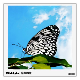 Butterfly & Sky Wall Decal