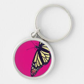"""Butterfly"" Small (1.44"") Premium Round Keychain"