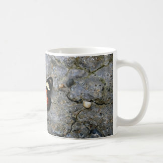 Butterfly Solitaire on Stone Classic White Coffee Mug