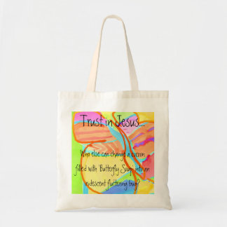 'Butterfly Soup' Tote Bag