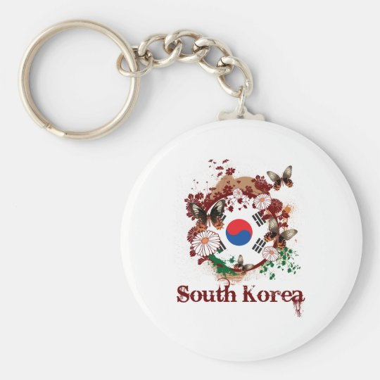 Butterfly South Korea Keychain
