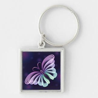 Butterfly Spectrum Keychain