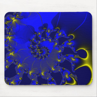 Butterfly Spiral Mouse Pad