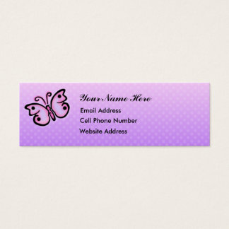 Butterfly Spirit Skinny Profile Card