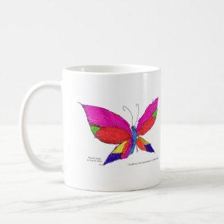 Butterfly Splash Coffee Mug